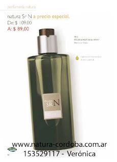 natura perfumes de hombre