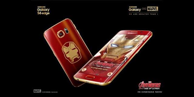"Samsung Galaxy S6 Edge ""Iron Man"""