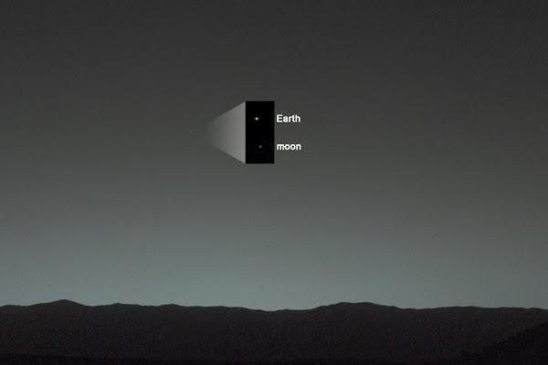 curiosity LUNA marte