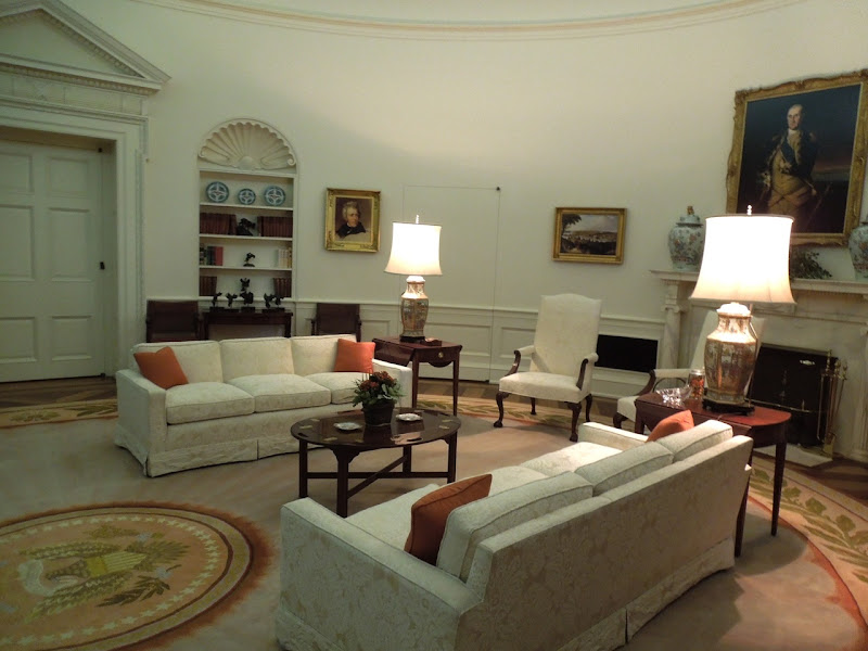 President Reagan Oval Office