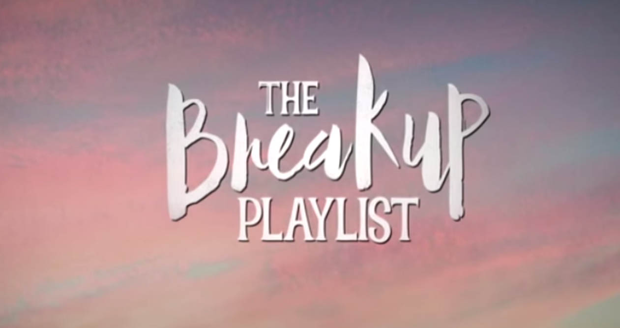 The Breakup Playlist 2015 romantic movie title card from Star Cinema and Viva Films starring Sarah Geronimo and Piolo Pascual directed by Dan Villegas
