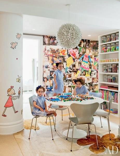 decorar habitacion infantil con vinilo para niñas