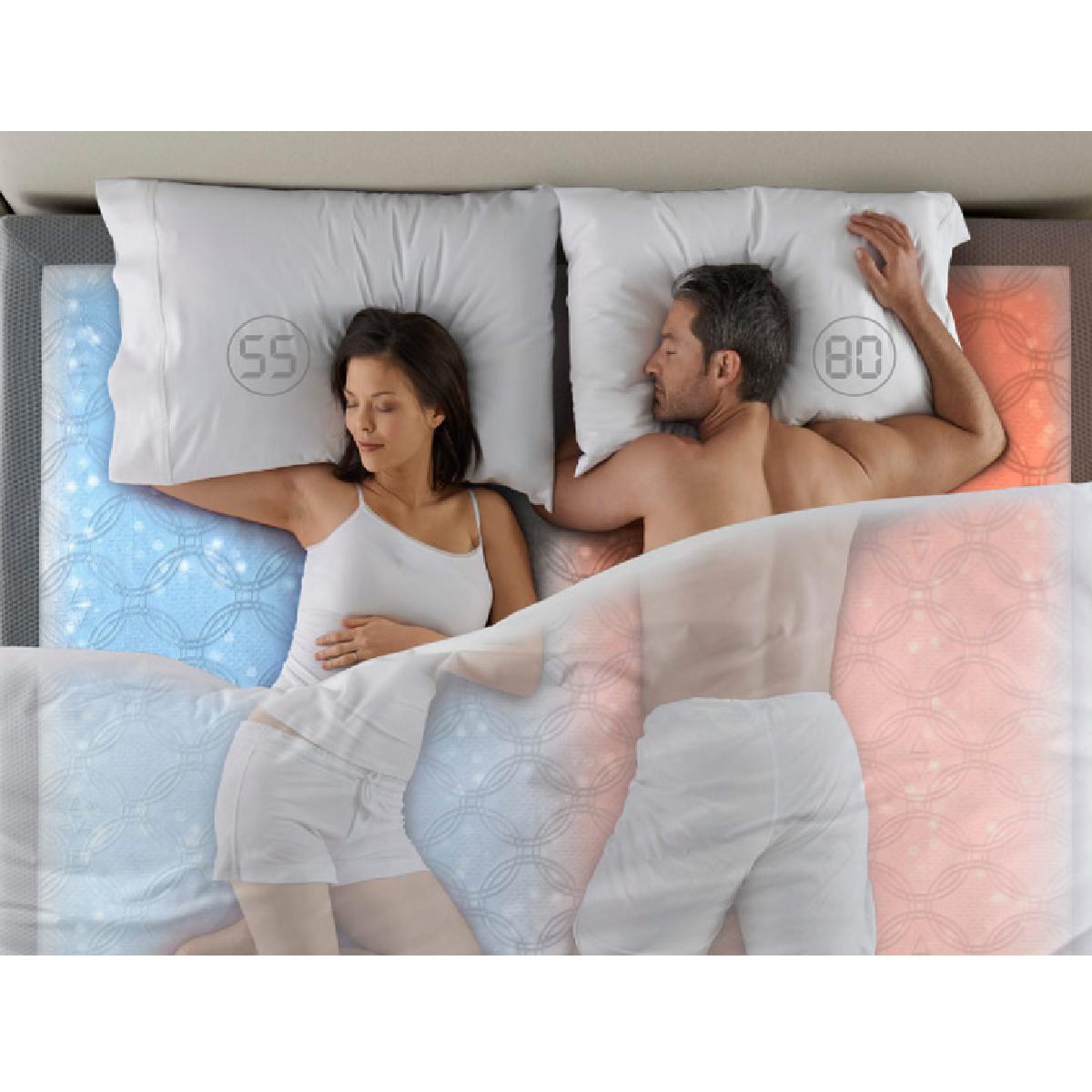 cadeaux 2 ouf id es de cadeaux insolites et originaux dual temp un matelas chauffant pour deux. Black Bedroom Furniture Sets. Home Design Ideas