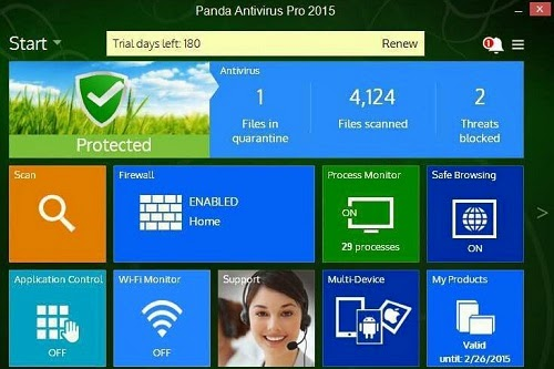 Panda Antivirus Pro 2015 Activation Code