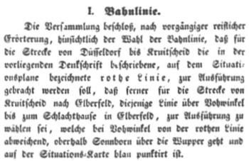 Protokoll der 2. Generalversammlung der Aktionäre der DEEG vom 12.06.1837