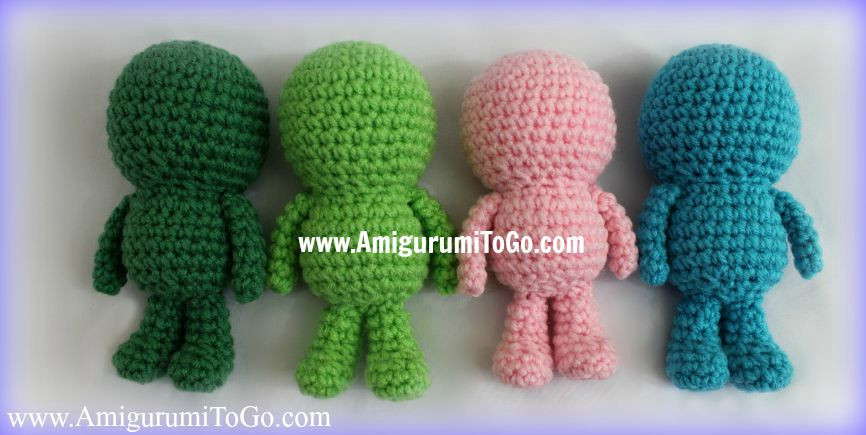 Wee Bits Basic Body Pattern ~ Amigurumi To Go