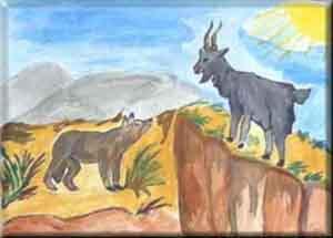 Fabula el Lobo y la Cabra