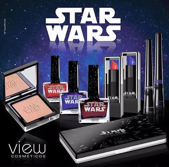 Coleção Star Wars Exclusiva da View Cosméticos
