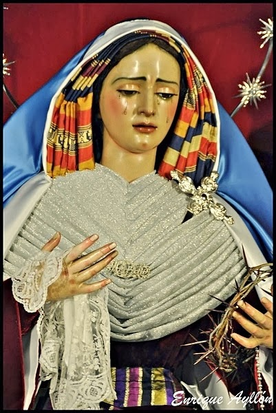 Virgen de Gracia y Amparo de hebrea 2014