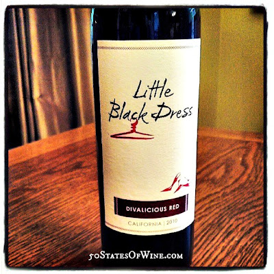 Little Black Dress Wines Divalicious Red