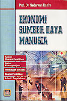 toko buku rahma: buku EKONOMI SUMBER DAYA MANUSIA, pengarang sudarman denim, penerbit pustaka setia