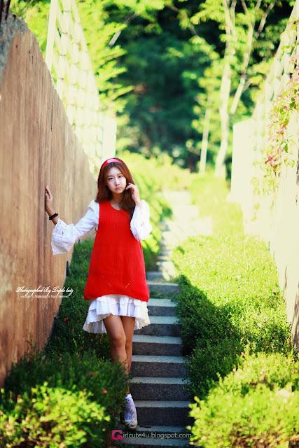 2 Park Hyun Sun outdoor - very cute asian girl-girlcute4u.blogspot.com