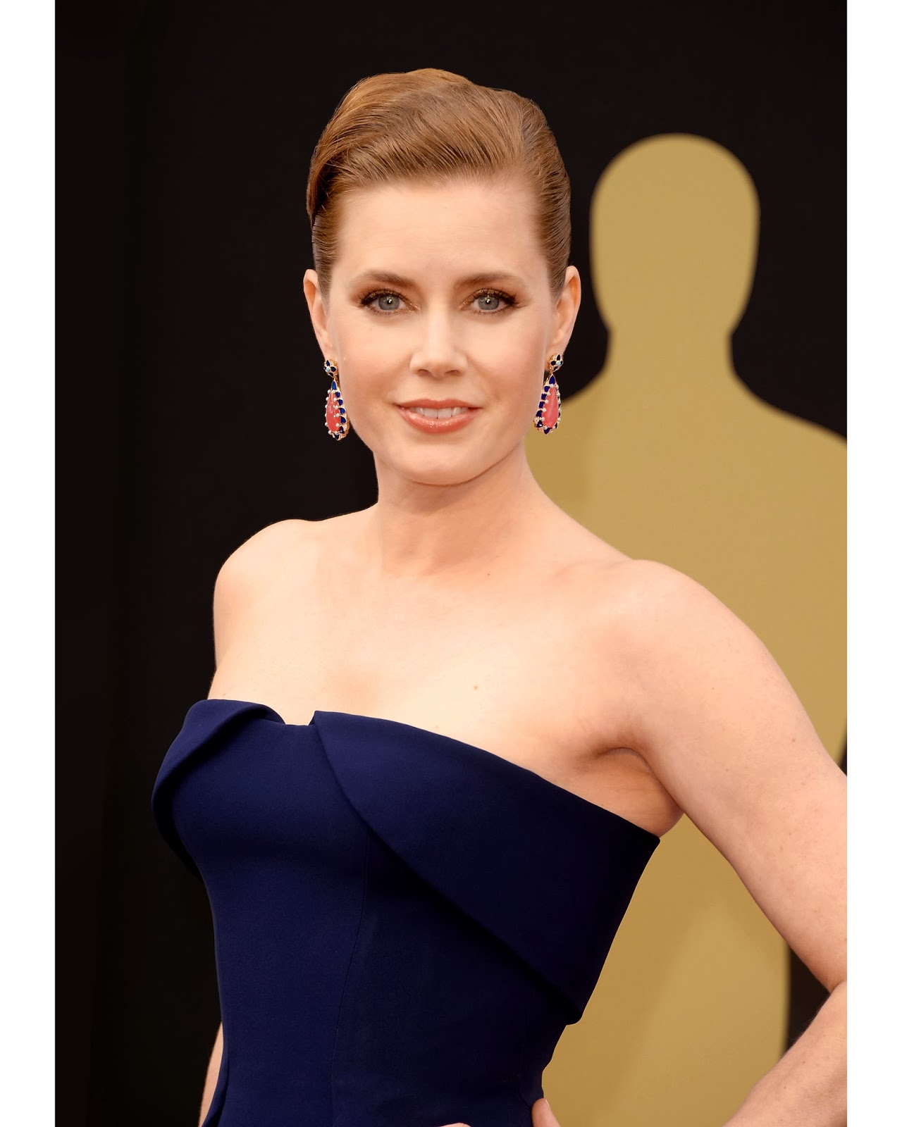 AMY ADAMS AT THE 86TH ACADEMY AWARDS