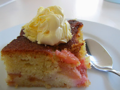 Good food and red shoes: Nigel Slater's moist plum cake