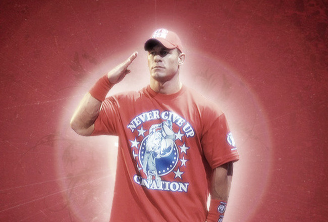 Wwe+john+cena+2011+red+t+shirt