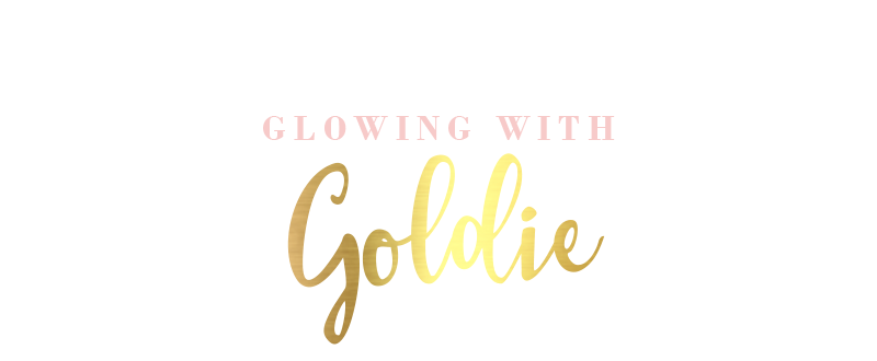 Glowing With Goldie