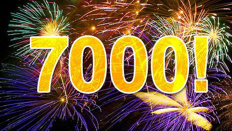 Y llegué al mensaje 7000 7000+visitas