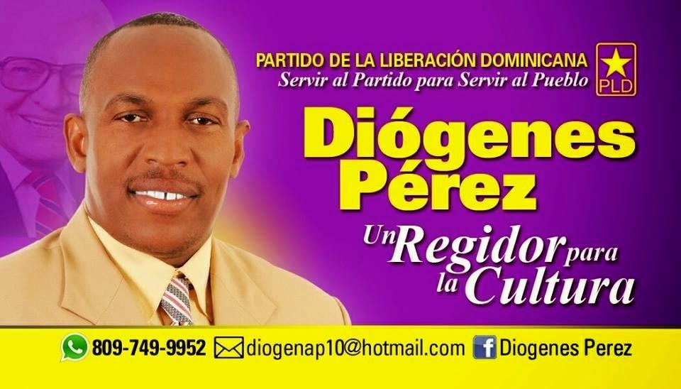 Diógenes Pérez, regidor