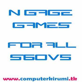 NGAGE 2.0 games for all s60v5 and info