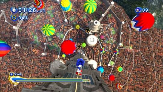 Gameplay Sonic Generations