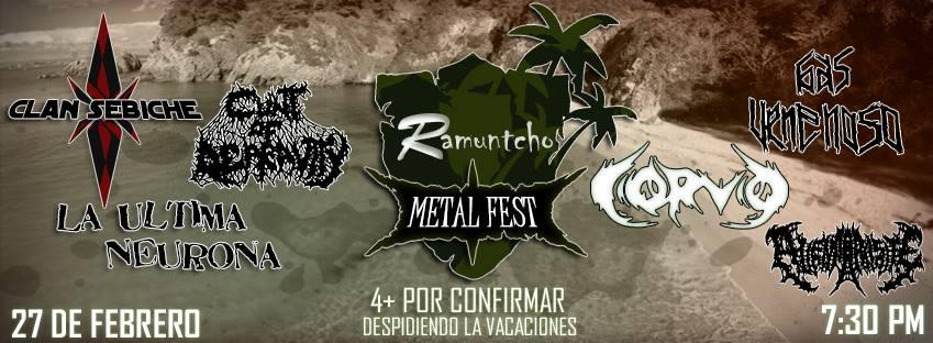 RAMUNTCHO METAL FEST