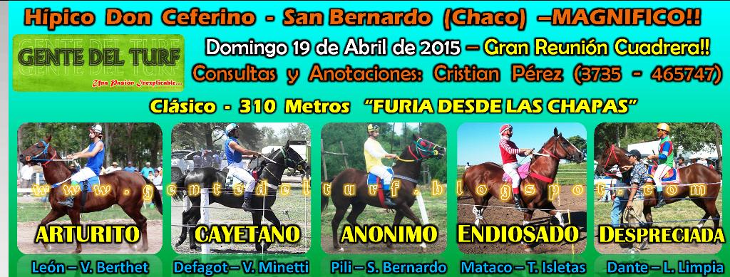 San Bernardo 18-04 Mas