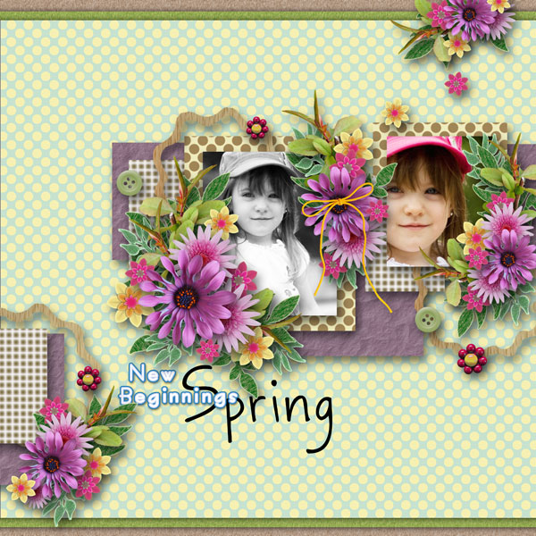 DSB  first kit & template - freebies - created by Tsukushi