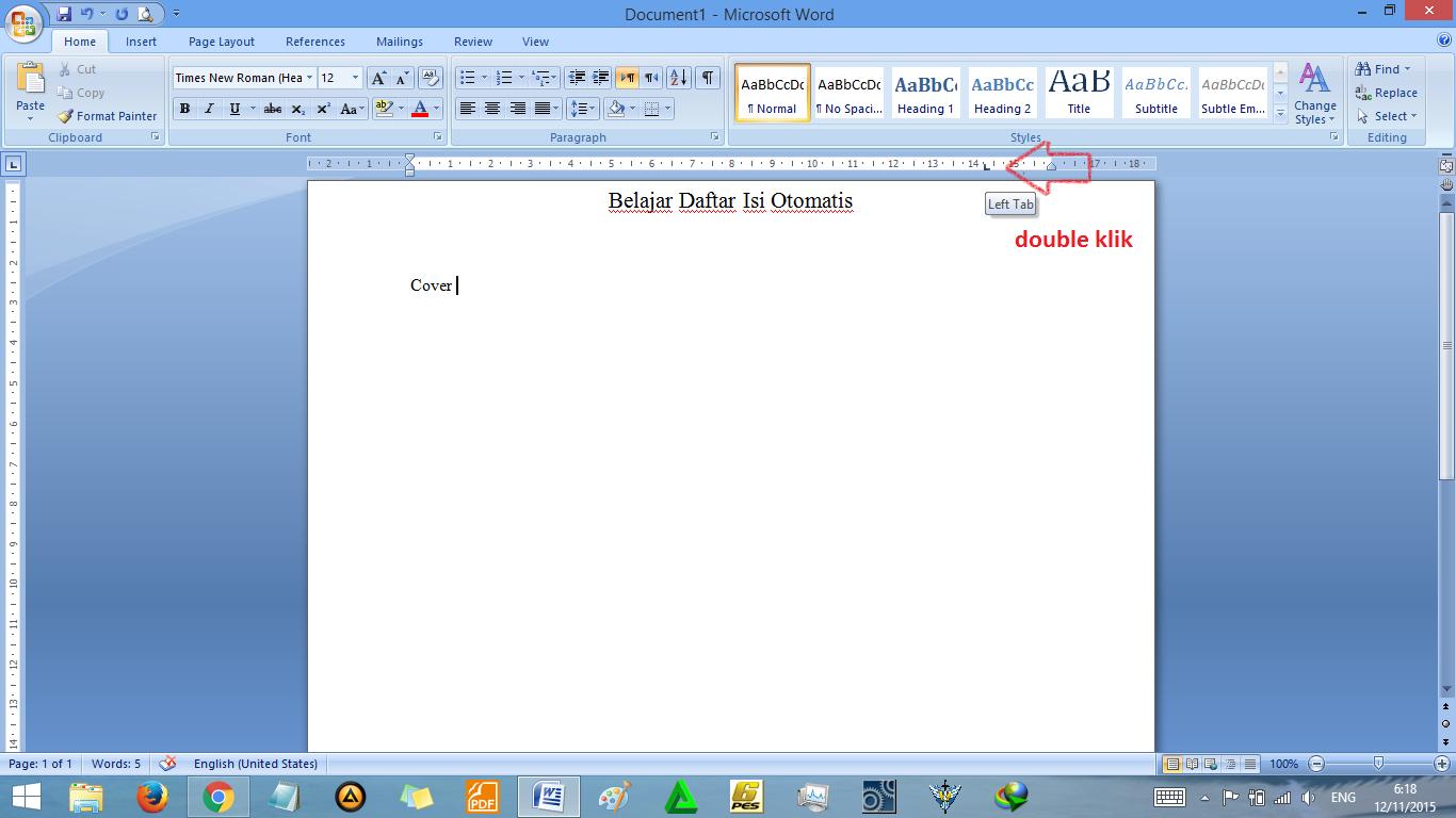 Cara Membuat Daftar Isi Otomatis di Word, Rapi!   Tutorial