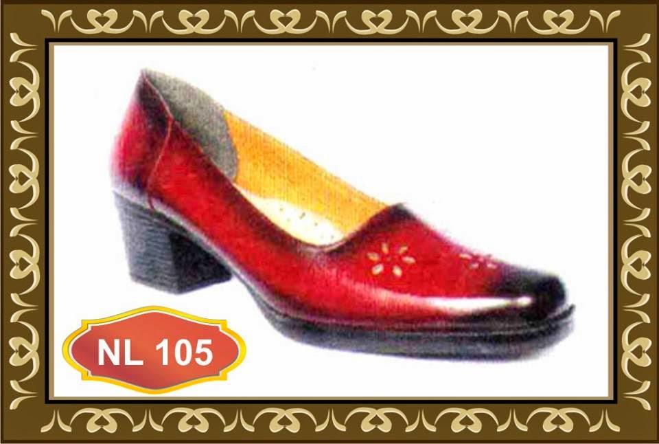 sepatu kulit tinggi