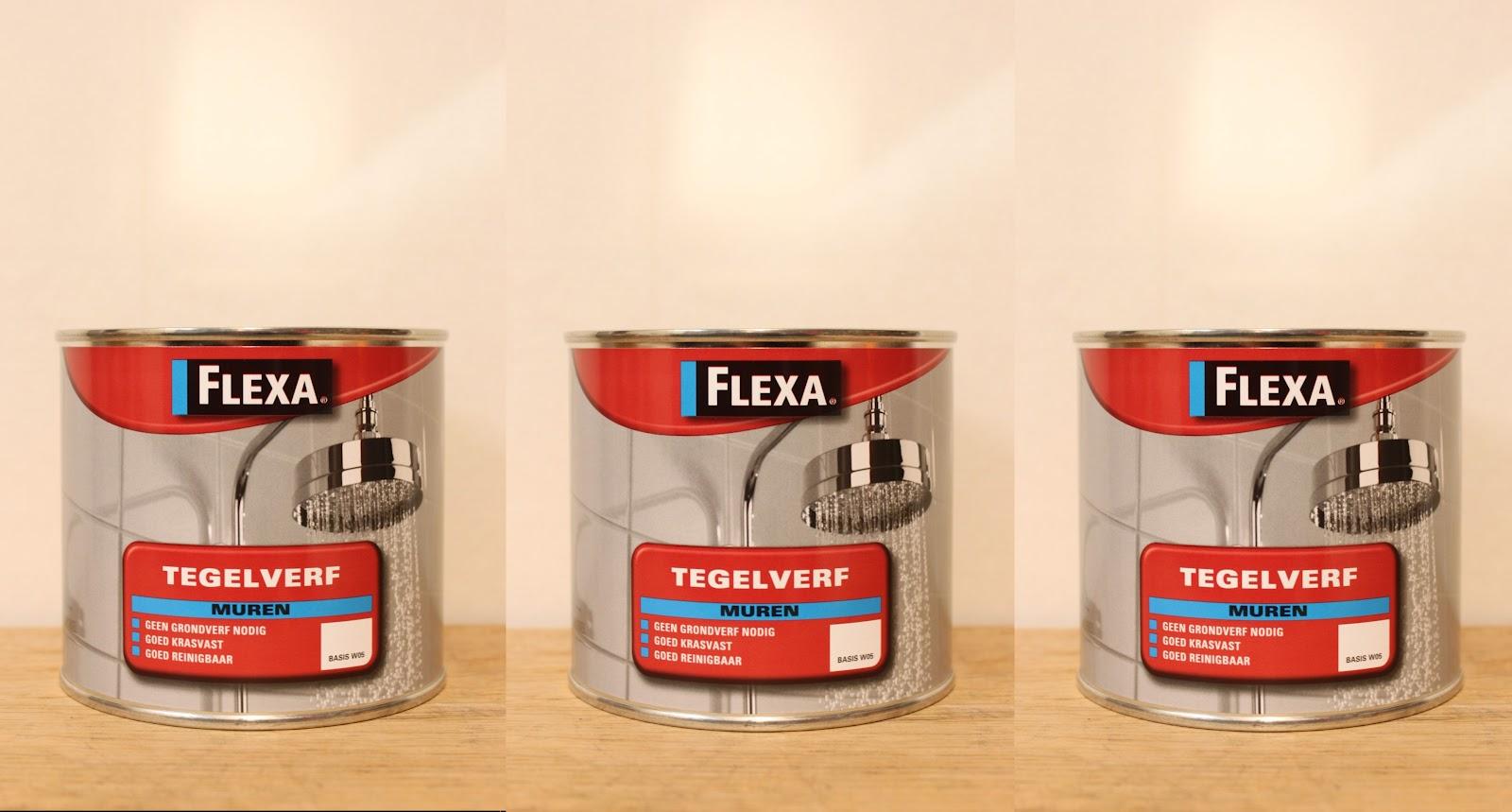 behangloods Wateringen Flexa Tegelverf  lichte kleuren  1,5 liter