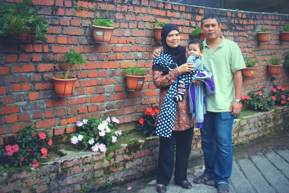 Ummi, Abah dan Hafiz