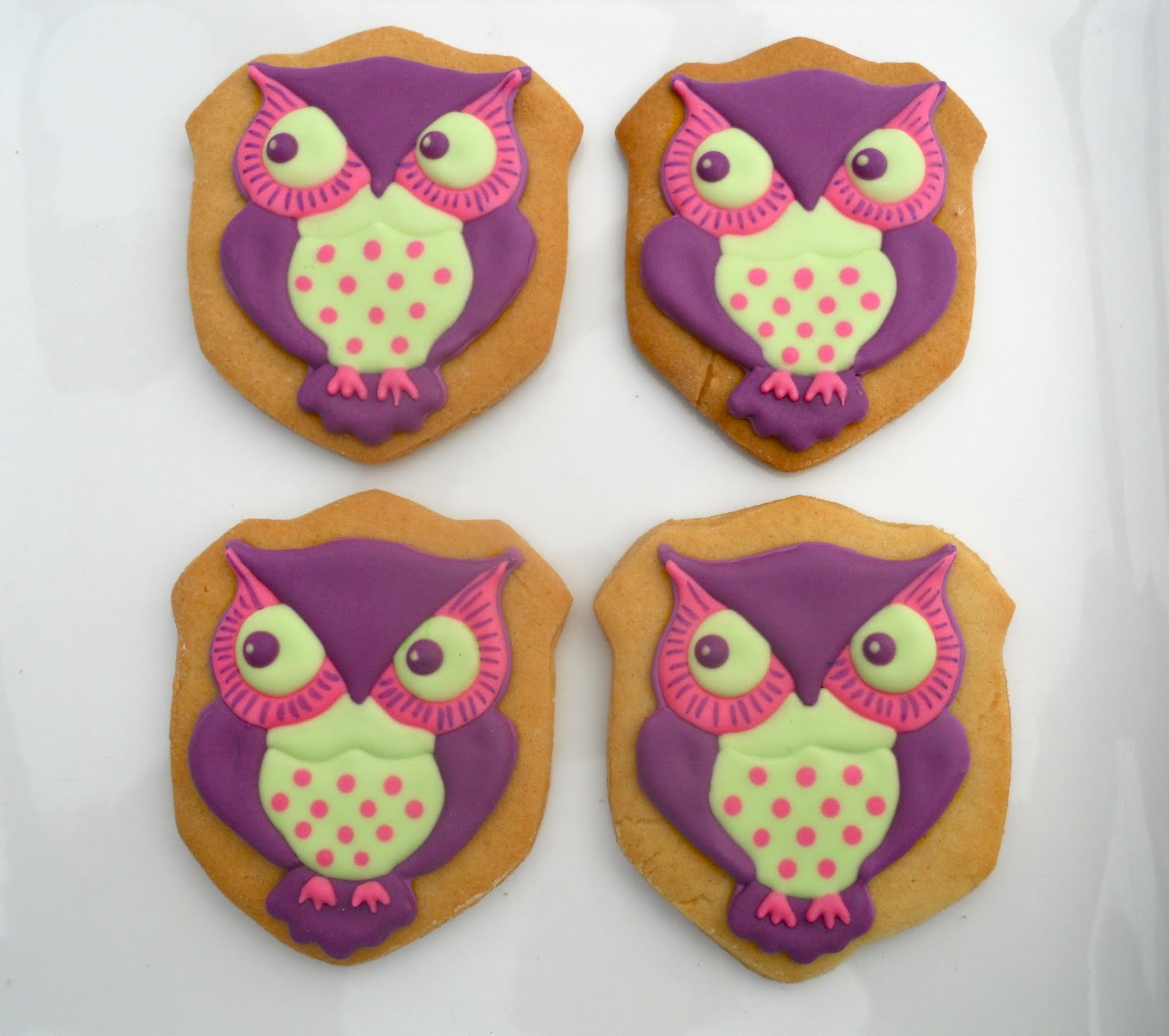 Owl Decorated Cookies Similiar Baby Owl Cookies Keywords
