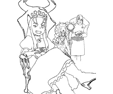 #8 Ghost 'n Goblin Arthur Coloring Page
