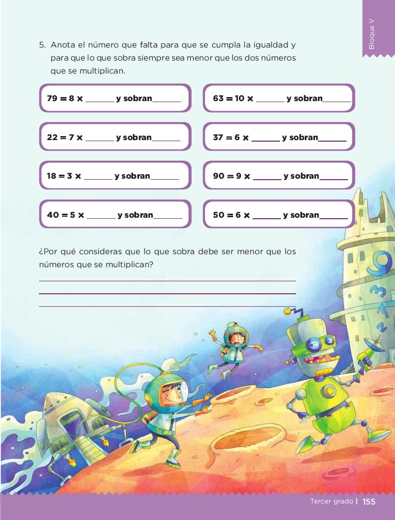 ¿Por cuánto multiplico? Desafios matemáticos 3ro bloque 5/2014-2015