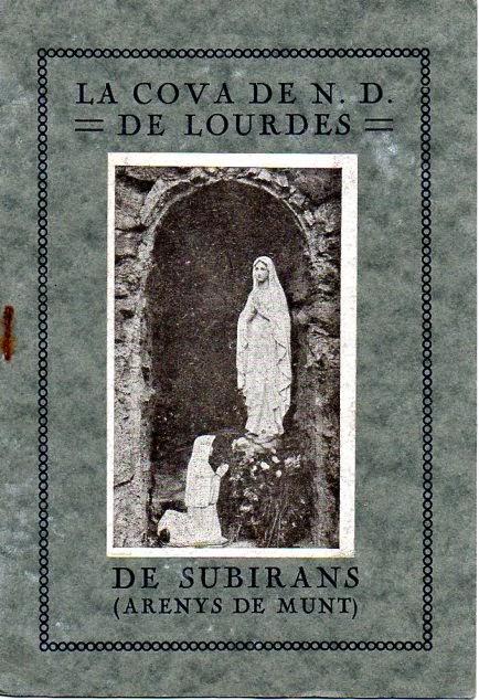 Santuari de Lourdes de Subirans