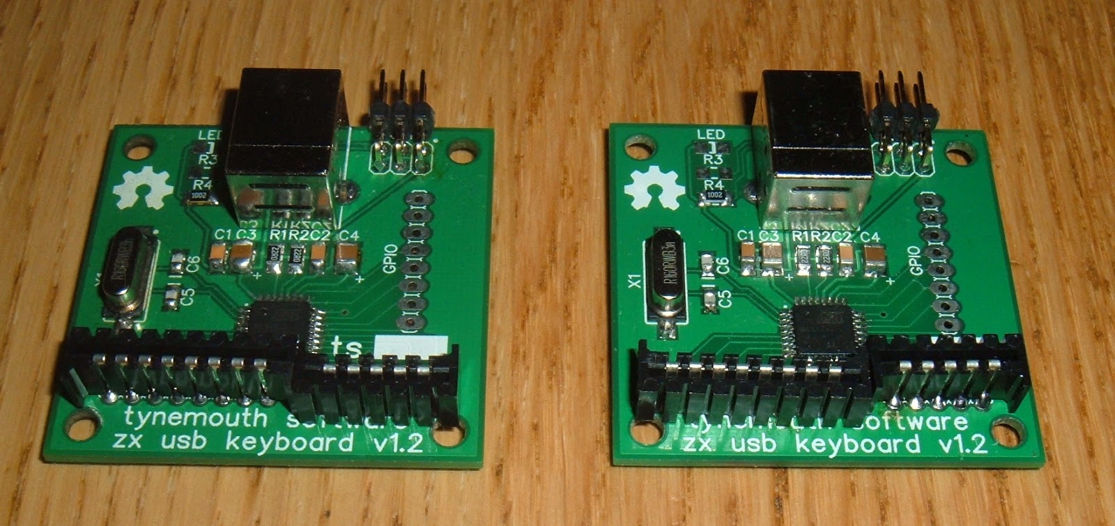 Tynemouth Software Zx Spectrum 2 Usb Keyboards The Basic Digital Computing Circuitry Used In Sinclair Although Membrane Tails Are Reversed So Connectors Fitted Reverse Of Zx81 Either Way Around I Still Put A