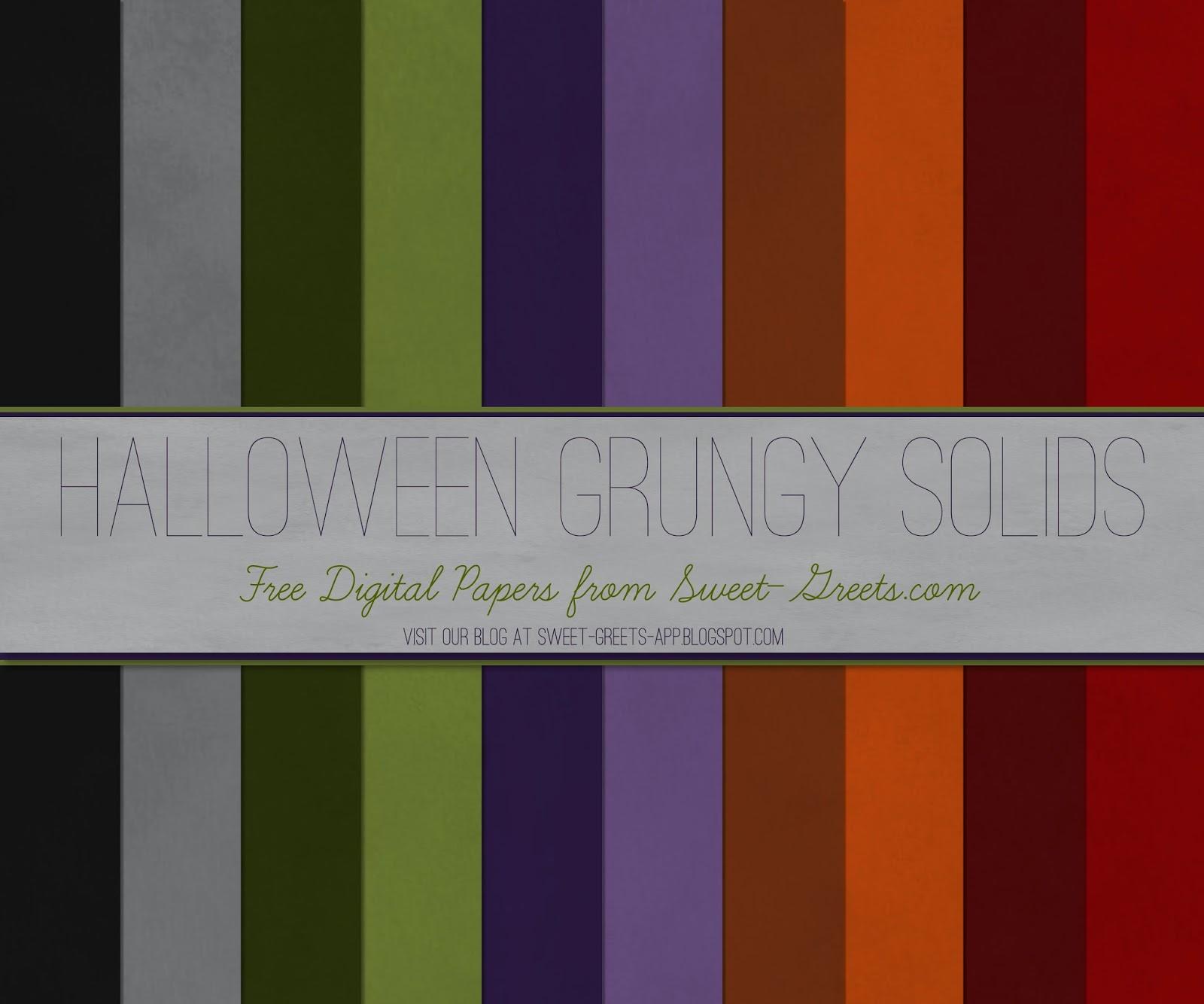Free Halloween Digital Paper