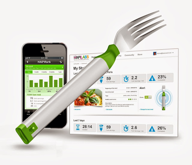 HAPIfork now available to pre-order for $99 with worldwide shipping