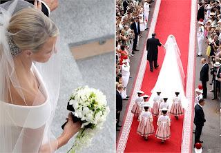 8 Charlene Wittstock & Príncipe Albert de Mônaco