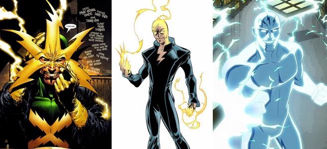 che viene direttamente dal cartone animato  quot ultimate spidermanUltimate Electro Blue