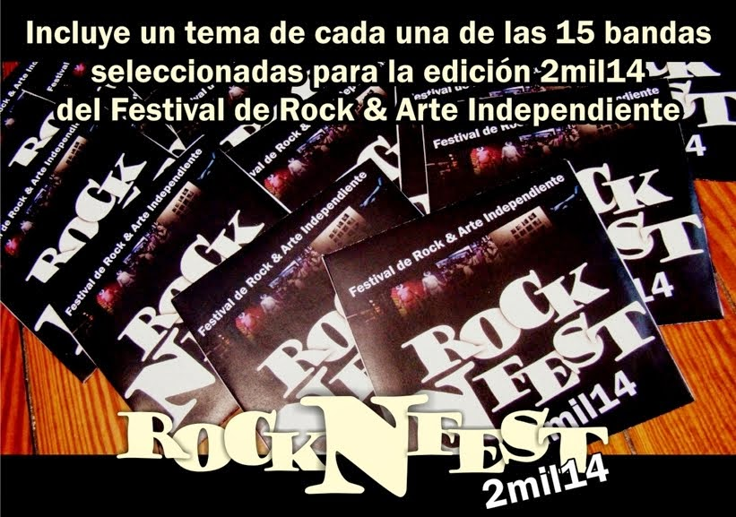 Festival de Rock & Arte Independiente ROCK N FEST 2mil14