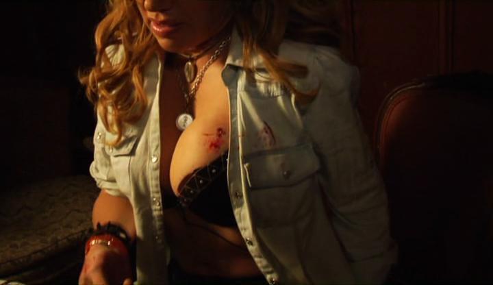 Naked Edie Falco in The Sopranos