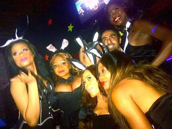 Cossy Orjiakor Shares Boobs revealing Sexy Photos From her Easter Bunny Party 5