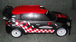 coche de rally a radio control