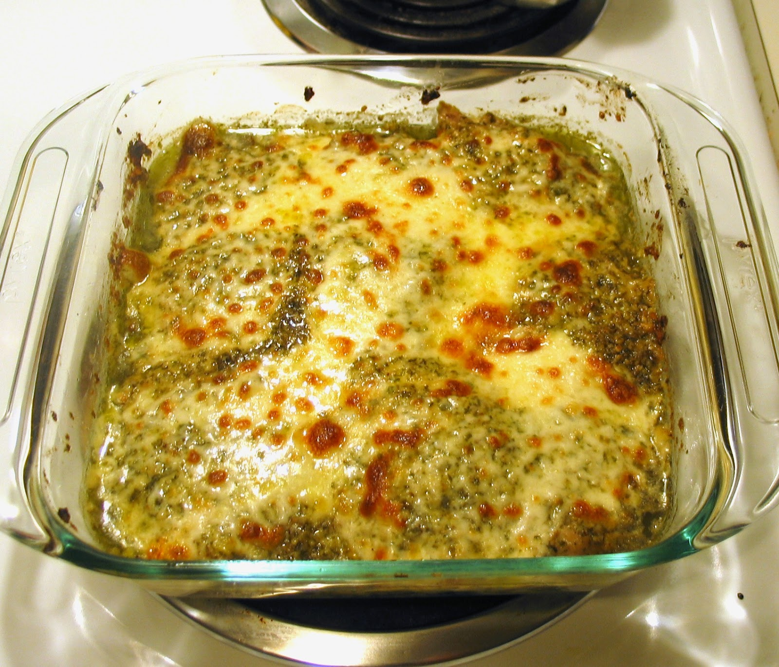 Starch Free Cookbook: Homemade Pesto & Baked Pesto Chicken