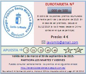 RESULTADOS SORTEO EUROMILLONES