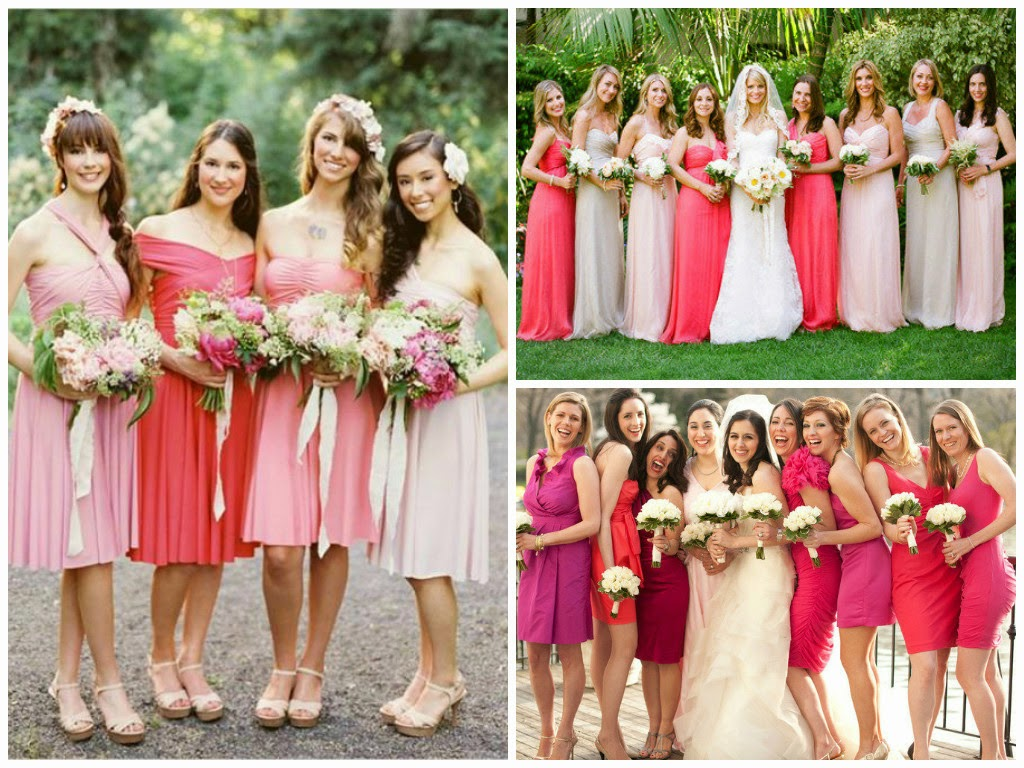 It should be exactly as you want becauses your party mismatched bridesmaid dresses allow you to create your own wedding tradition be who you are and allow your bridesmaids to be themselves and do it in style ombrellifo Gallery