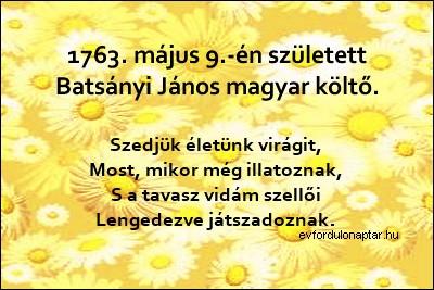 Batsányi János magyar költő