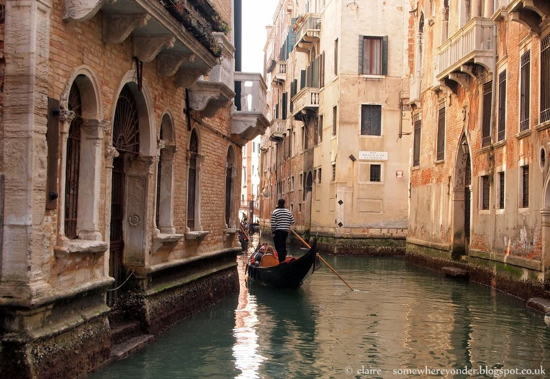 The 'streets' of Venice, Italy