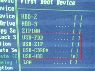 BIOS - USB HDD